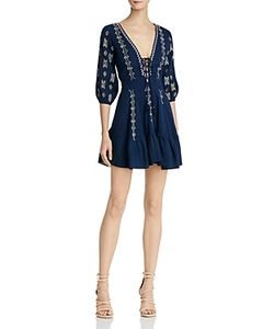 Piper | Sanor Lace-Up Dress