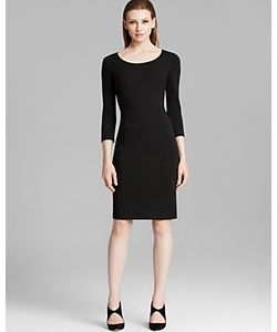 Armani Collezioni | Dress Scoop Neck Three Quarter Sleeve