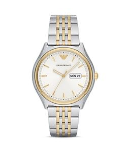 Emporio Armani | Zeta Two-Tone Bracelet Watch 43mm