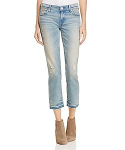 True Religion | Cora Mid Rise Straight Jeans In Dream