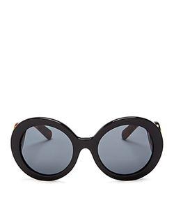 Prada | Round Baroque Arm Sunglasses 55mm