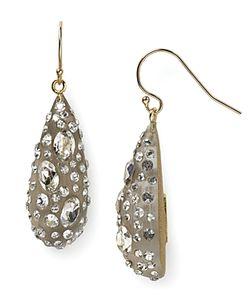 Alexis Bittar | Lucite Crystal Dust Dewdrop Earrings