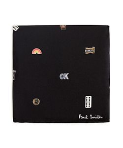 Paul Smith | Cufflink Print Pocket Square