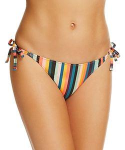 Paul Smith | Stripe Side Tie Bikini Bottom