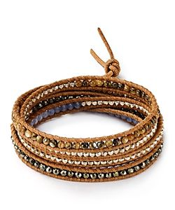Chanluu | Chan Luu Leather Wrap Bracelet