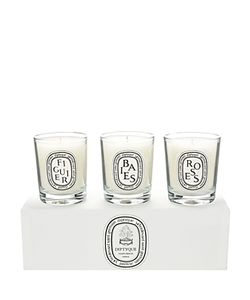 Diptyque | Baies Figuier Roses Candle Set