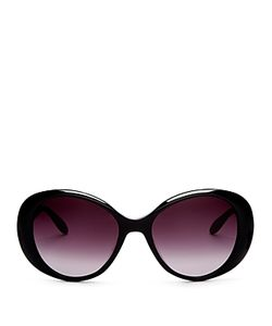 Moschino | Scattered Logo Oval Sunglasses 56mm