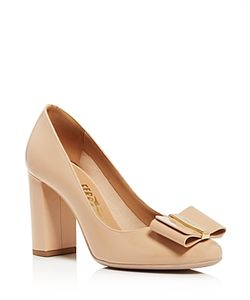 Salvatore Ferragamo | Elinda Block Heel Pumps