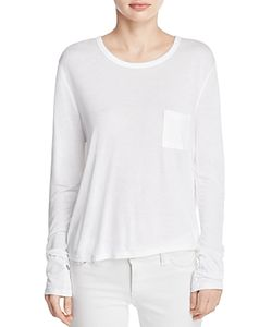 T by Alexander Wang | Classic Cropped Long Sleeve Tee