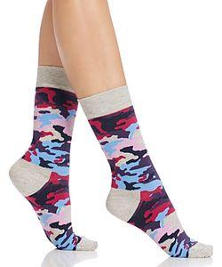 HAPPY SOCKS | Camo Crew Socks
