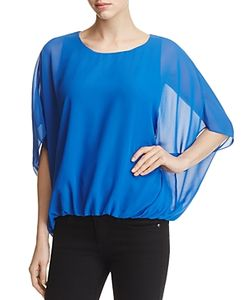 Vince Camuto | Batwing Bubble Hem Blouse 100 Exclusive