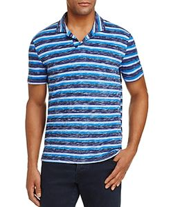 Michael Bastian | Stripe Slub Slim Fit Polo Shirt