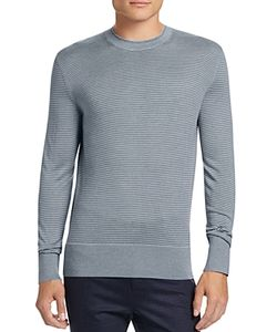 Theory | Villings Silk Cashmere Striped Sweater