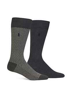 Polo Ralph Lauren | Herringbone Solid Trouser Socks Pack Of