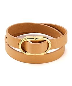 Tory Burch | Gemini Link Leather Wrap Bracelet