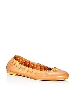 See by Chloé | See By Chloe Jane Scalloped Ballet Flats