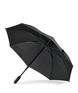 Shedrain | Stratus Chrome Stick With Matte Handle Umbrella