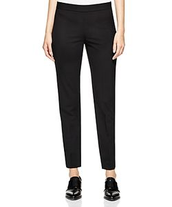 DKNY | Stretch Wool Ankle Pants