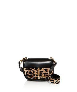 Salvatore Ferragamo | Anna Leopard Print Calf Hair Shoulder Bag