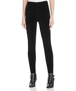 Mother   High Waist Seamless Looker Velvet Pants
