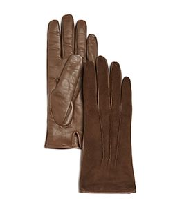 Bloomingdale's | Cashmere-Lined Suede Tech Gloves 100 Exclusive