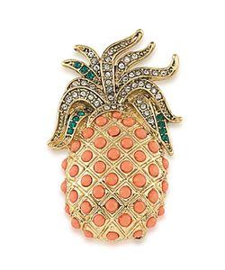 Carolee | Pineapple Brooch