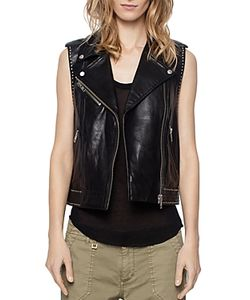 Zadig & Voltaire | Lexy Deluxe Leather Vest