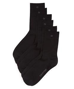 Calvin Klein   Light Touch Crew Socks Set Of 3