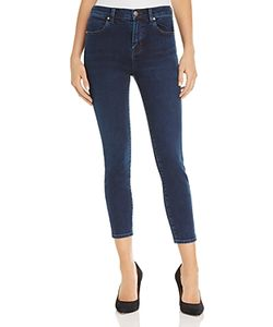 J Brand | Alana High Rise Crop Jeans In