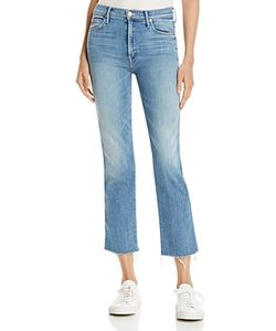 Mother | Rascal Frayed Ankle Jeans In