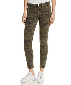Hudson | Nico Mid Rise Ankle Super Skinny Jeans
