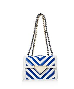 Sara Battaglia | Elizabeth Color Block Small Shoulder Bag