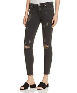 Hudson | Nico Raw Hem Ankle Jeans In
