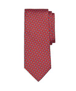 Brooks Brothers | Chain Link Print Classic Tie