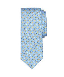 Brooks Brothers | Lemon Print Classic Tie