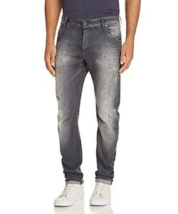 G-Star Raw | Arc 3d Distressed Slim Fit Jeans In Medium Aged