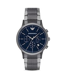 Emporio Armani | Chevron Link Bracelet Watch 43mm