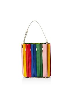Sara Battaglia | Rainbow Bucket Bag