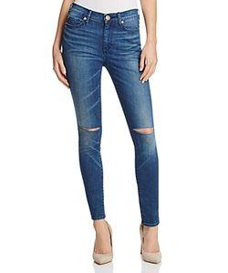 True Religion | Halle Super Skinny Jeans In Cobalt Rush