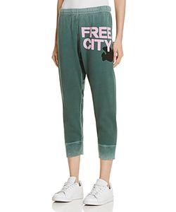 Free City   Cropped Sweatpants