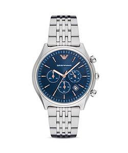 Emporio Armani | Chronograph Link Bracelet Watch 43mm