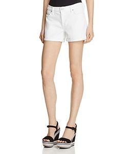 Hudson | Asha Cuffed Denim Shorts In