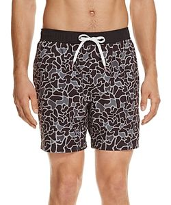 Michael Bastian | Bubble Camouflage Swim Trunks