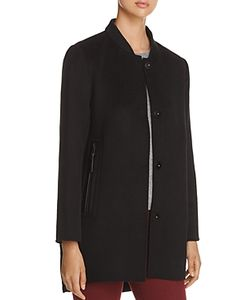 Derek Lam 10 Crosby | Mixed Media Coat