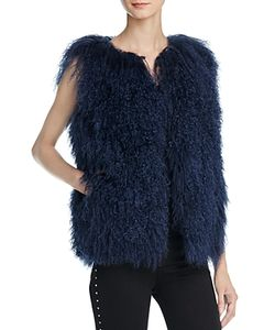 Meteo By Yves Salomon | Mongolian Lamb Fur Vest