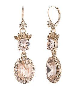 Marchesa | Ornate Drop Earrings