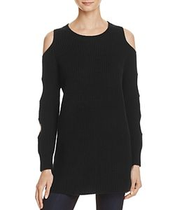 Zoe Jordan | Galileo Cold Shoulder Tunic Sweater
