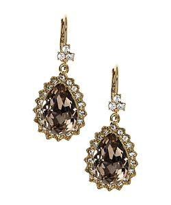 Marchesa | Pear Drop Earrings