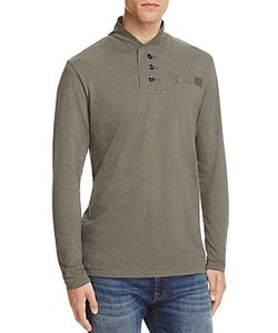 G-Star Raw | Long Sleeve Mock Neck Henley