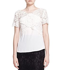 The Kooples | Crossover Lace Top